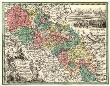 Silesiae Ducatus tam super. quam Inferior, juxta suos XVII minor. Principatus
