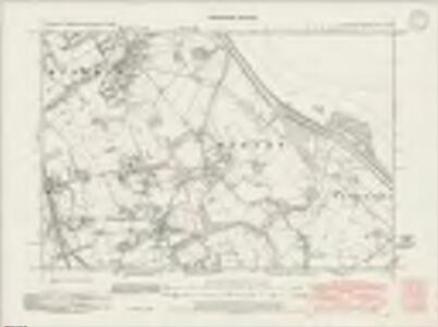 Cheshire XXIII.SW - OS Six-Inch Map