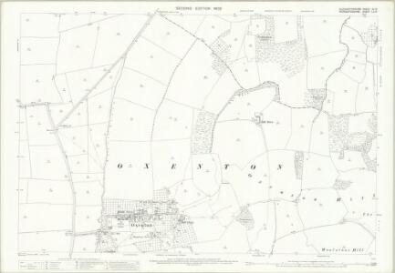 Gloucestershire XII.16 (includes: Ashchurch; Oxenton; Teddington) - 25 Inch Map