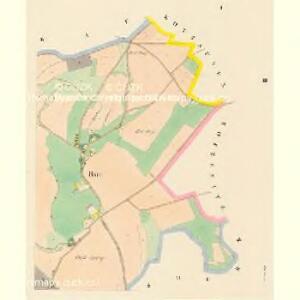 Bsie (Bzie) - c0729-1-001 - Kaiserpflichtexemplar der Landkarten des stabilen Katasters