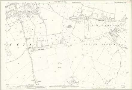 Hertfordshire XII.10 (includes: Ippollitts; Langley; Wymondley) - 25 Inch Map