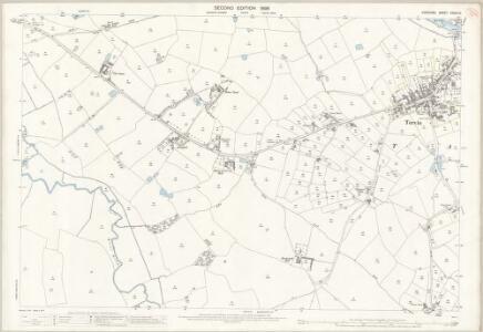 Cheshire XXXIX.10 (includes: Barrow; Cotton Edmunds; Hockenhull; Tarvin) - 25 Inch Map