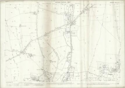 Berkshire XIV.10 (includes: East Challow; Grove; Wantage) - 25 Inch Map