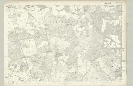 Surrey IX - OS Six-Inch Map