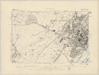 Staffordshire XL.SW - OS Six-Inch Map