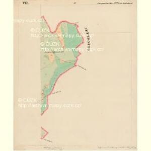 Bergreichenstein - c3068-1-007 - Kaiserpflichtexemplar der Landkarten des stabilen Katasters