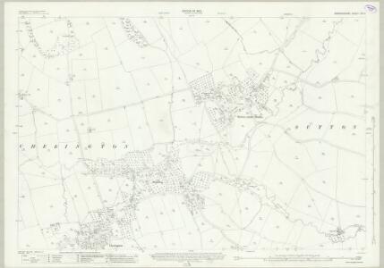 Warwickshire LVII.2 (includes: Brailes; Cherington; Stourton; Sutton Under Brailes) - 25 Inch Map