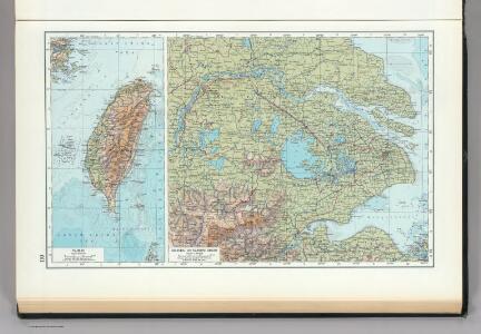 110.  Taiwan, Shanghai, Nanking.  The World Atlas.