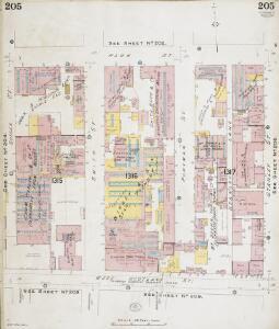 Insurance Plan of Glasgow Vol. V: sheet 205