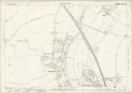 Berkshire XXII.6 (includes: Checkendon; Cholsey; Moulsford; South Stoke) - 25 Inch Map