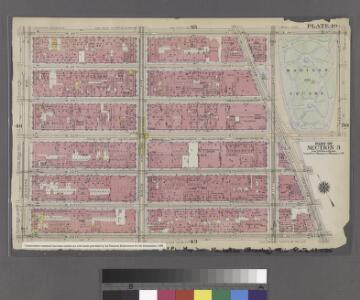 [Plate 49: Bounded by W. 26th Street, Broadway (Madison Square), W. 20th Street, and Seventh Avenue.]