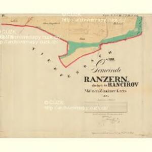 Ranzern - m2556-1-004 - Kaiserpflichtexemplar der Landkarten des stabilen Katasters