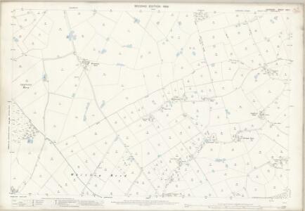 Cheshire XXVI.1 (includes: Antrobus; Appleton; High Legh; Stretton) - 25 Inch Map
