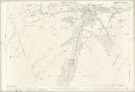 Northumberland (Old Series) CXI.7 (includes: Allendale Common; Allendale; Stanhope) - 25 Inch Map