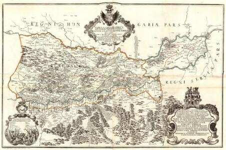 Tabula Geographica Nova et Exacta Distincte exhibens Regnum Sclavoniae cum Syrmii Ducatu