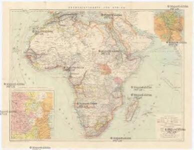 Übersichtskarte von Afrika