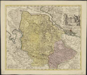 Ducatus Bremae & Ferdae maximaeque partis fluminis Visurgis descriptio