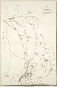 A Survey of the Roads and Foot-paths in the Parish of ISLINGTON. From a plan in the Vestry Room, Drawn in the Year 1735