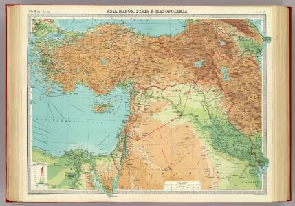 Asia Minor, Syria & Mesopotamia.