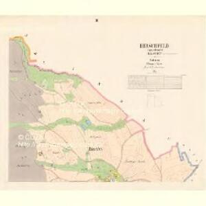 Hirschfeld - c5991-2-003 - Kaiserpflichtexemplar der Landkarten des stabilen Katasters