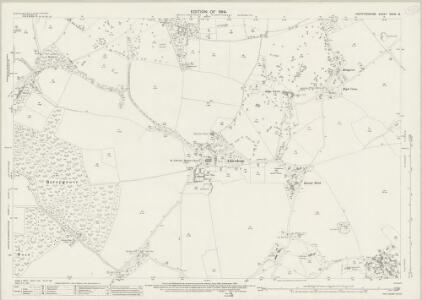 Hertfordshire XXXIX.15 (includes: Aldenham; Bushey; Watford) - 25 Inch Map