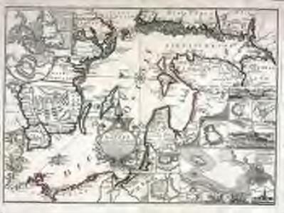 Accurate geographische Vorstellung der Ost-See