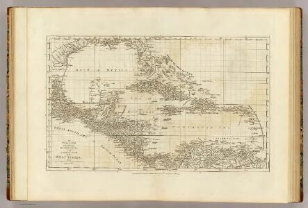 An index map to ...a compleat chart of the West Indies.