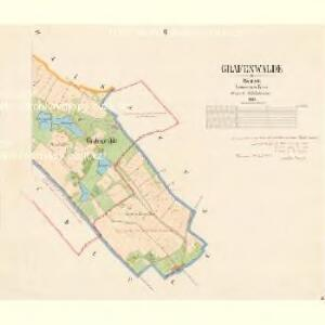 Grafenwalde - c5270-2-002 - Kaiserpflichtexemplar der Landkarten des stabilen Katasters