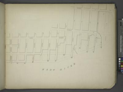 [Map bounded by Lewis Street, Avenue D, Avenue C,     14th St, Pier - Line 63-73, Houston Street; Including Williamsburgh Ferry, 3rd   St, 4th St, 5th St, 6th St, 7th St, 8th St, 9th St, 10th St, Green Point Ferry,  11th St, 12th St, 13th St]