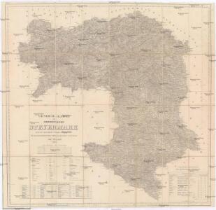 General-Karte des Herzogthums Steyermark