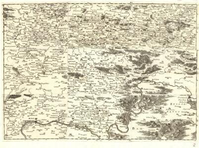 S.R.Imp. Circuli Franconici Geographica Delineatio Francken-Land mit Seinen Gräntzen