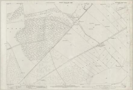 Wiltshire LXXV.3 (includes: Broad Chalke; Martin) - 25 Inch Map