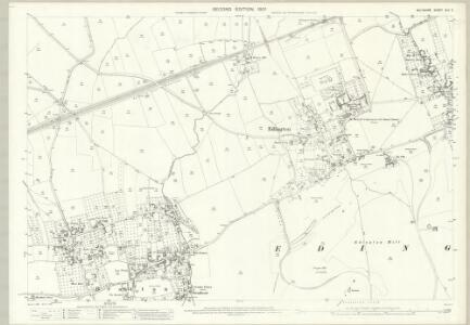 Wiltshire XLV.2 (includes: Bratton; Edington) - 25 Inch Map