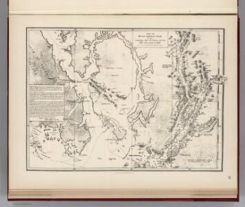 Facsimile:  Cordova Bay to Cross Sound.  Part of British Admiralty Chart.  No. 2431.