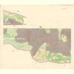 Ober Beczwa (Horny Bečwa) - m0763-1-017 - Kaiserpflichtexemplar der Landkarten des stabilen Katasters