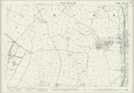 Somerset XCI.8 (includes: Chard Borough; Chard; Chardstock) - 25 Inch Map