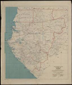 Colonie du Gabon. Afrique Equatoriale Française