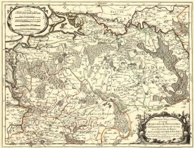 Le Brabant Hollandois qui comprend Quartier de Bos-le-Duc, le Marquisat de Berg-Op-Zoom, et la Baronie de Breda
