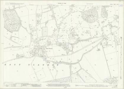 Surrey XXIV.11 (includes: East Clandon; West Horsley) - 25 Inch Map