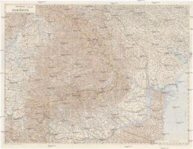 Übersichtskarte von Rumänien