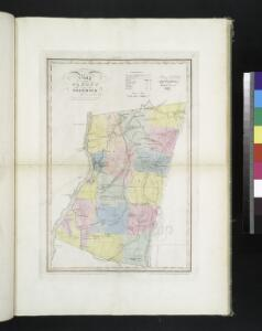 Map of the county of Columbia / by David H. Burr ; engd. by Rawdon, Clark & Co., Albany, & Rawdon, Wright & Co., New York.