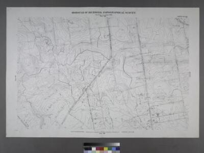 Sheet No. 68. [Includes (Green Ridge) Carleton Boulevard, Halpin Avenue, Legate Avenue and Annadale Road.]; Borough of Richmond, Topographical Survey.
