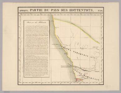 Partie, Pays des Hottentots. Afrique 50.