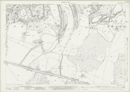 Kent IX.8 (includes: Darenth; Stone; Swanscombe) - 25 Inch Map