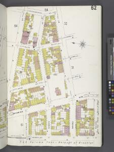 Brooklyn V. 9, Plate No. 62 [Map bounded by Catherine St., Maujer St., Humboldt St., Devoe St.]