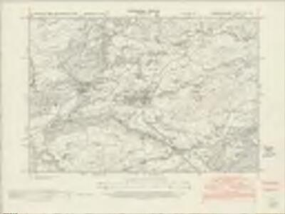 Merionethshire XII.NW - OS Six-Inch Map