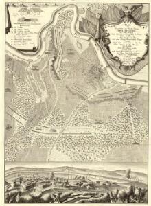 Plan der Kayserlichen und Reichs Vöstung Philippsburg