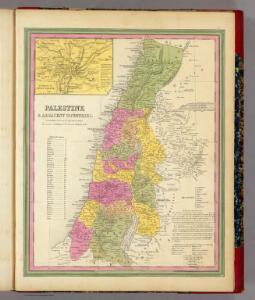 Palestine & Adjacent Countries.