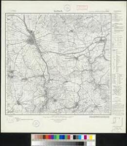 Meßtischblatt 2731 : Korbach, 1936