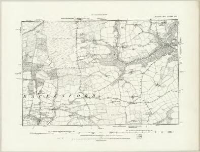 Devonshire XXXIII.NW - OS Six-Inch Map